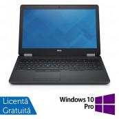Laptop Dell Precision 3510, Intel Core i7-6700HQ 2.60GHz, 16GB DDR4, 240GB SSD, Full HD, Webcam, 15.6 Inch + Windows 10 Pro, Refurbished Laptopuri Refurbished