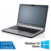 Laptop Refurbished Fujitsu LIFEBOOK E743, Intel Core i7-3632QM 2.20GHz, 8GB DDR3, 240GB SSD, 14 Inch + Windows 10 Home Laptopuri Refurbished