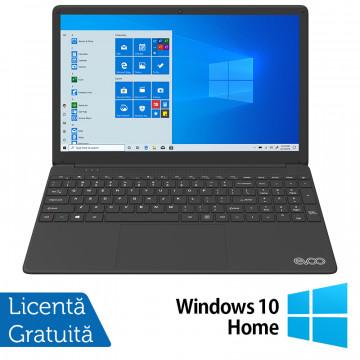 Laptop Nou EVOO EVC156-1BK, Intel Core i7-6660U 2.40-3.40GHz, 8GB DDR4, 256GB SSD, 15.6 Inch Full HD, Bluetooth, Webcam, Tastatura Numerica + Windows 10 Home Laptopuri Noi