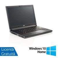 Laptop Fujitsu Lifebook E546, Intel Core i3-6006U 2.00GHz, 8GB DDR4, 240GB SSD, Webcam, 14 Inch + Windows 10 Home