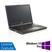 Laptop Fujitsu Lifebook E546, Intel Core i3-6006U 2.00GHz, 8GB DDR4, 240GB SSD, Webcam, 14 Inch + Windows 10 Pro