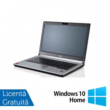 Laptop Fujitsu LIFEBOOK E743, Intel Core i7-3632QM 2.20GHz, 16GB DDR3, 240GB SSD, 14 Inch + Windows 10 Home, Refurbished Laptopuri Refurbished