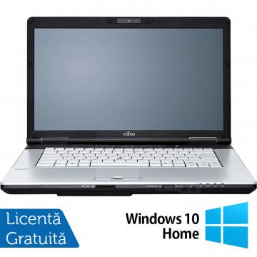 Laptop FUJITSU SIEMENS E751, Intel Core i5-2430M 2.40GHz, 4GB DDR3, 120GB SSD, DVD-RW, 15.6 Inch, Webcam + Windows 10 Home, Refurbished Laptopuri Refurbished