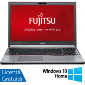 Laptop FUJITSU SIEMENS Lifebook E756, Intel Core i5-6200U 2.30GHz, 8GB DDR4, 240GB SSD, DVD-RW, 15.6 Inch Full HD, Webcam, Tastatura Numerica + Windows 10 Home, Refurbished Laptopuri Refurbished