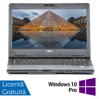 Laptop FUJITSU SIEMENS S782, Intel Core i7-3612QM 2.10GHz, 8GB DDR3, 240GB SSD, DVD-RW, 14 Inch, Webcam + Windows 10 Pro