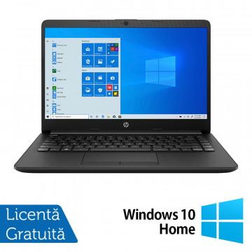 Laptop Nou HP 14-DK1031, AMD Ryzen 3 3250U 2.60GHz, 8GB DDR4, 1TB SATA, Bluetooth, Webcam, 14 Inch, Jet Black + Windows 10 Home Laptopuri Noi