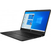 Laptop Nou HP 14-DK1031, AMD Ryzen 3 3250U 2.60GHz, 8GB DDR4, 1TB SATA, Bluetooth, Webcam, 14 Inch, Jet Black + Windows 10 Home Laptopuri Noi