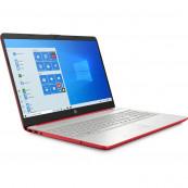 Laptop Nou HP 15-DW1083, Intel Pentium Gold Gen 10 6405U 2.40GHz, 4GB DDR4, 128GB SSD, 15.6 Inch, Webcam, Scarlet Red + Windows 10 Home Laptopuri Noi