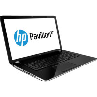 Laptop HP Pavilion 17-e073ed, AMD A8-5550M 2.10GHz, 4GB DDR3, 120GB SSD, DVD-RW, 17.3 Inch, Tastatura Numerica, Webcam