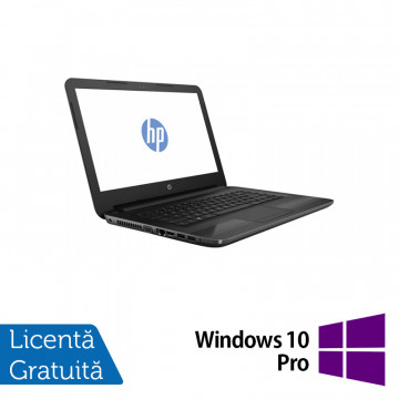 Laptop HP 240 G6, Intel Core i5-7200U 2.50GHz, 8GB DDR4, 240GB SSD, 14 Inch, Webcam + Windows 10 Pro, Refurbished Laptopuri Refurbished