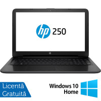 Laptop HP 250 G4, Intel Core i3-4005U 1.70GHz, 4GB DDR3, 1TB SATA, DVD-RW, 15.6 Inch, Tastatura Numerica, Webcam + Windows 10 Home