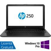 Laptop HP 250 G4, Intel Core i3-4005U 1.70GHz, 4GB DDR3, 1TB SATA, DVD-RW, 15.6 Inch, Tastatura Numerica, Webcam + Windows 10 Pro, Refurbished Laptopuri Refurbished
