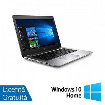 Laptop HP ProBook 440 G4, Intel Core i5-7200U 2.50GHz, 8GB DDR3, 120GB SSD M.2, 14 Inch, Webcam + Windows 10 Home, Refurbished Laptopuri Refurbished