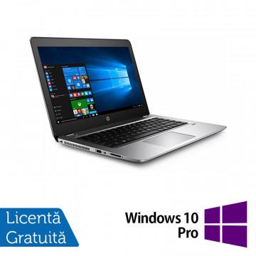 Laptop HP ProBook 440 G4, Intel Core i5-7200U 2.50GHz, 8GB DDR3, 120GB SSD M.2, 14 Inch, Webcam + Windows 10 Pro, Refurbished Laptopuri Refurbished