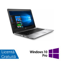 Laptop HP ProBook 440 G4, Intel Core i5-7200U 2.50GHz, 8GB DDR4, 240GB SSD M.2, 14 Inch HD+, Webcam + Windows 10 Pro