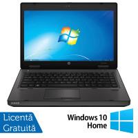 Laptop HP ProBook 6470b, Intel Core i5-3320M 2.60GHz, 4GB DDR3, 120GB SSD, DVD-RW, 14 Inch, Webcam + Windows 10 Home