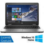 Laptop HP ProBook 650 G2, Intel Core i5-6200U 2.30GHz, 8GB DDR4, 240GB SSD, 15.6 Inch, Tastatura Numerica + Windows 10 Home, Refurbished Laptopuri Refurbished
