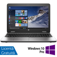 Laptop HP ProBook 650 G2, Intel Core i5-6200U 2.30GHz, 8GB DDR4, 240GB SSD, 15.6 Inch, Tastatura Numerica + Windows 10 Pro