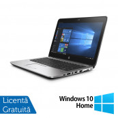 Laptop HP EliteBook 725 G3, AMD A8-8600B 1.60GHz, 8GB DDR3, 500GB SATA, Webcam, 12.5 Inch + Windows 10 Home, Refurbished Laptopuri Refurbished