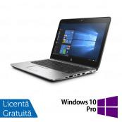 Laptop HP EliteBook 725 G3, AMD A8-8600B 1.60GHz, 8GB DDR3, 500GB SATA, Webcam, 12.5 Inch + Windows 10 Pro, Refurbished Laptopuri Refurbished