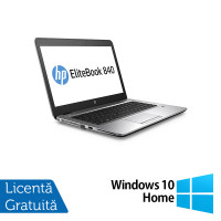 Laptop HP Elitebook 840 G3, Intel Core i5-6200U 2.30GHz, 8GB DDR3, 240GB SSD, 14 Inch + Windows 10 Home