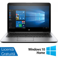 Laptop HP Elitebook 840 G3, Intel Core i5-6200U 2.30GHz, 8GB DDR4, 120GB SSD, 14 Inch, Webcam + Windows 10 Home