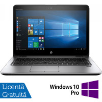 Laptop HP Elitebook 840 G3, Intel Core i5-6200U 2.30GHz, 8GB DDR4, 120GB SSD, 14 Inch, Webcam + Windows 10 Pro