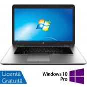 Laptop HP EliteBook 850 G1, Intel Core i5-4300U 1.90GHz, 8GB DDR3, 240GB SSD, 15.6 Inch, Webcam + Windows 10 Pro, Refurbished Laptopuri Refurbished