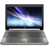 Laptop HP EliteBook 8560w Mobile Workstation, Intel Core i7-2670QM 2.20GHz, 8GB DDR3, 240GB SSD, NVIDIA Quadro 1000M, DVD-RW, 15.6 Inch Full HD, Webcam, Tastatura Numerica, Baterie Consumata, Second Hand Laptopuri Ieftine