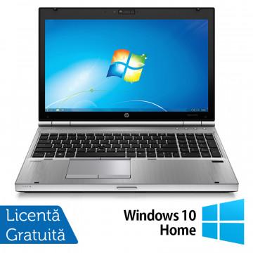 Laptop HP EliteBook 8570p, Intel Core i5-3230M 2.60GHz, 4GB DDR3, 120GB SSD, 15.6 Inch, Tastatura Numerica + Windows 10 Home, Refurbished Laptopuri Refurbished