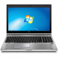 Laptop HP EliteBook 8570p, Intel Core i7-3520M 2.90GHz, 4GB DDR3, 120GB SSD, DVD-RW, 15.6 Inch HD+, Webcam, Tastatura Numerica