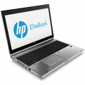 Laptop HP EliteBook 8570p, Intel Core i7-3520M 2.90GHz, 4GB DDR3, 120GB SSD, DVD-RW, 15.6 Inch, Webcam, Tastatura Numerica, Second Hand Laptopuri Second Hand