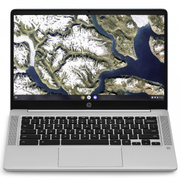 Laptop Nou HP ChromeBook 14A-NA0031, Intel Pentium Silver N5000 1.10-2.70GHz, 4GB DDR4, 64GB eMMC, 14 Inch, Webcam, Chrome OS Laptopuri Noi