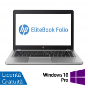 Laptop HP EliteBook Folio 9470M, Intel Core i5-3437U 1.90GHz, 8GB DDR3, 240GB SSD, Webcam, 14 Inch + Windows 10 Pro, Refurbished Laptopuri Refurbished