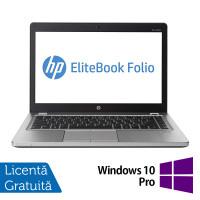 Laptop HP EliteBook Folio 9470M, Intel Core i5-3437U 1.90GHz, 8GB DDR3, 240GB SSD, Webcam, 14 Inch + Windows 10 Pro