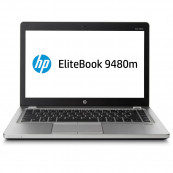 Laptop HP EliteBook Folio 9480M, Intel Core i5-4310U 2.00GHz, 8GB DDR3, 240GB SSD, Webcam, 14 Inch, Second Hand Laptopuri Second Hand