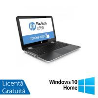 Laptop HP Pavilion x360, Intel Core i3-4030U 1.90GHz, 4GB DDR3, 500GB SATA, TouchScreen, Webcam, 13.3 Inch + Windows 10 Home