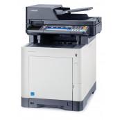 Multifunctionala Laser Color KYOCERA M6035cidn, A4, 35 ppm, 600 x 600 dpi, Scanner, Copiator, USB, Retea, Second Hand Imprimante Second Hand