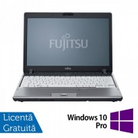 Laptop Refurbished FUJITSU SIEMENS P701, Intel Core i3-2310M 2.10GHz, 4GB DDR3, 160GB HDD + Windows 10 Pro