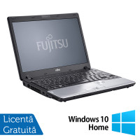 Laptop Refurbished FUJITSU SIEMENS P702, Intel Core i3-2370M 2.40GHz, 4GB DDR3, 320GB HDD + Windows 10 Home