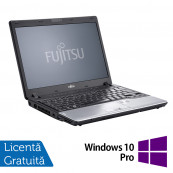 Laptop Refurbished FUJITSU SIEMENS P702, Intel Core i3-2370M 2.40GHz, 4GB DDR3, 320GB HDD + Windows 10 Pro Intel Core i3