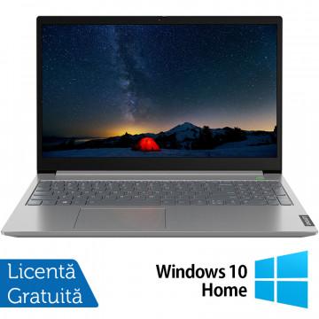 Laptop Nou Lenovo IdeaPad 3 15IIL05, Intel Core Gen 10 i3-1005G1 1.20-3.40GHz, 8GB DDR4, 256GB SSD, 15.6 Inch Full HD, Bluetooth, Webcam, Platinum Gray + Windows 10 Home Laptopuri Noi