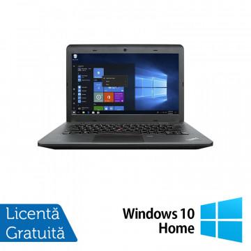 Laptop Lenovo ThinkPad E540, Intel Core i3-4000M 2.40GHz, 4GB DDR3, 500GB SATA, DVD-RW, 15.6 Inch, Webcam + Windows 10 Home, Refurbished Laptopuri Refurbished