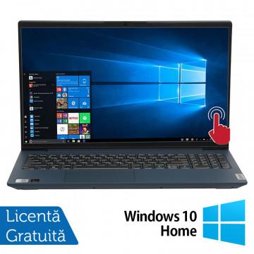 Laptop Nou Lenovo IdeaPad 5 15IIL05, Intel Core Gen 10 i7-1065G7 1.30-3.90GHz, 12GB DDR4, 512GB SSD, 15.6 Inch Full HD IPS LED TouchScreen, Bluetooth + Windows 10 Home (Ambalaj original deschis, webcam nefunctional) Laptopuri Noi