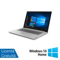 Laptop Nou LENOVO L340-17API, AMD Ryzen 5 3500U 2.10GHz, 8GB DDR4, 1TB SATA, Bluetooth, Webcam, Platinum Gray, 17.3 Inch + Windows 10 Home