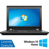 Laptop Lenovo ThinkPad L430, Intel Core i5-3210M 2.50GHz, 8GB DDR3, 120GB SSD, DVD-RW, 14 Inch, Webcam + Windows 10 Home, Refurbished Laptopuri Refurbished