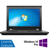 Laptop Lenovo ThinkPad L430, Intel Core i5-3220M 2.60GHz, 4GB DDR3, 320GB SATA, DVD-RW, 14 Inch + Windows 10 Pro, Refurbished Laptopuri Refurbished