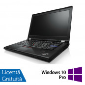 Laptop Lenovo T420, Intel Core i5-2520M 2.50GHz, 4GB DDR3, 250GB SATA, DVD-RW, 14.1 Inch + Windows 10 Pro Laptopuri Refurbished