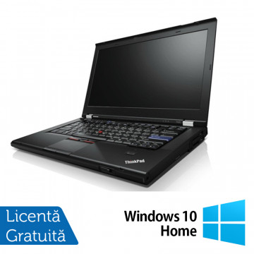 Laptop Lenovo ThinkPad T420, Intel Core i5-2520M 2.50GHz, 4GB DDR3, 120GB SSD, DVD-RW, 14 Inch, Webcam + Windows 10 Home, Refurbished Laptopuri Refurbished