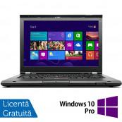 Laptop LENOVO ThinkPad T430, Intel Core i5-3210M 2.50GHz, 4GB DDR3, 320GB SATA, DVD-RW, 14 Inch, Webcam + Windows 10 Pro, Refurbished Laptopuri Refurbished